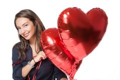 Give you my heart. Royalty Free Stock Photo