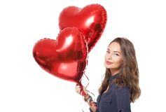 Give you my heart. Royalty Free Stock Photography
