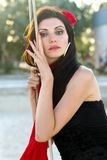 Portrait of gorgeous young woman Royalty Free Stock Photography
