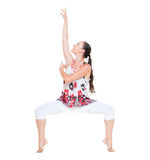 Portrait of graceful dancer Royalty Free Stock Images