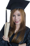 Portrait of graduating student Royalty Free Stock Photos