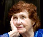 Portrait of grandma Stock Images