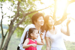 Portrait of grandmother, mother and daughter. Stock Image