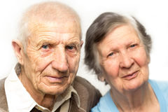 Portrait of grandparents Stock Image