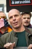 Portrait of Greek politician Yanis Varoufakis.