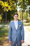Portrait of groom Stock Image