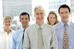 Corporate executives business team royalty free stock images