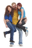 Portrait of a group of young people Stock Photos