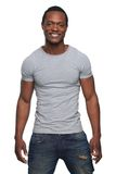 African American Man Smiling Stock Images