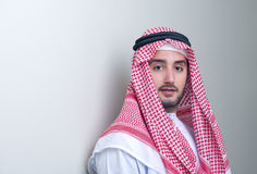 Portrait of a handsome arabian businessman Stock Images