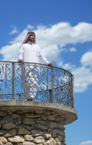 Portrait of a handsome arabian man Royalty Free Stock Photos