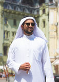 Portrait of a handsome arabian man royalty free stock images
