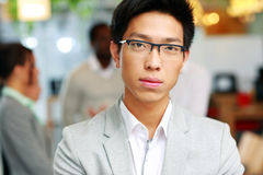 Portrait of a handsome asian man Royalty Free Stock Photography