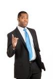 Portrait of handsome black man Stock Images