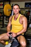 Portrait of handsome bodybuilder Stock Image