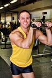 Portrait of handsome bodybuilder Royalty Free Stock Photo