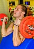 Portrait of handsome bodybuilder Stock Photography