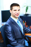 Portrait of a handsome business man Royalty Free Stock Images