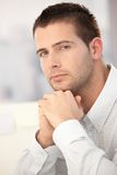 Portrait of handsome businessman Royalty Free Stock Photography