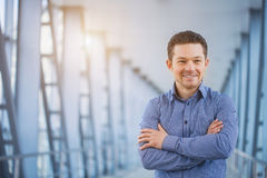 Portrait of an handsome businessman Royalty Free Stock Photography