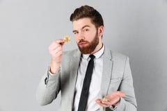 Portrait of a handsome businessman Stock Images