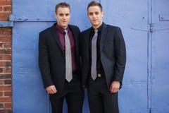 Portrait handsome businessmen Stock Image