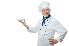Portrait of a handsome chef Stock Images