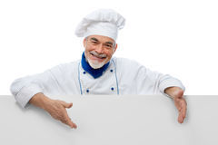 Portrait of a handsome chef Royalty Free Stock Photo