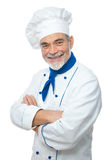 Portrait of a handsome chef Stock Image
