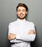 Portrait of an handsome confident business man Royalty Free Stock Photography