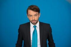 Portrait of an handsome confident businessman Stock Photo