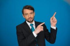 Portrait of an handsome confident businessman Stock Image