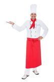 Portrait of a handsome cook Stock Photography