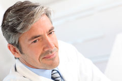 Portrait of handsome doctor Royalty Free Stock Images