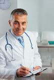Portrait of a handsome doctor Stock Photo