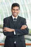 Portrait of a handsome Indian Businesman. Royalty Free Stock Photo