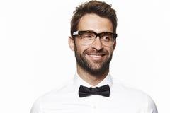 Portrait of handsome man Stock Image