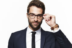 Portrait of handsome man Royalty Free Stock Photos