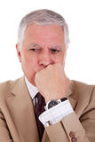 Portrait of a handsome mature businessman Royalty Free Stock Photo