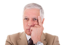 Portrait of a handsome mature businessman Stock Image