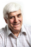 Portrait of handsome mature man looking at camera Stock Photo