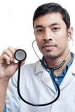 Portrait of Handsome Medical Doctor Royalty Free Stock Images