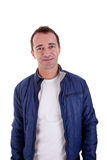 Portrait of a handsome middle-age man smiling Royalty Free Stock Photography
