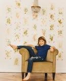 Portrait. Of handsome nice boy Stock Images