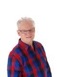Portrait of handsome senior man. Stock Image
