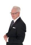 Portrait of handsome senior man. Royalty Free Stock Photos