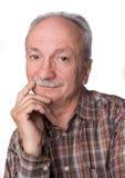 Portrait of handsome senior man Stock Photography