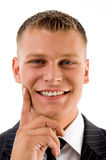 Portrait of handsome smiling businessman Royalty Free Stock Photography