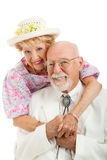 Portrait of Southern Senior Couple Stock Photography