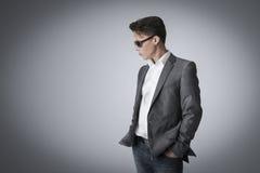 Portrait of a handsome stylish man Stock Photo